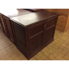 """25x50 1/2x41"""" Wood counter height cabinet (10/02/19)"""
