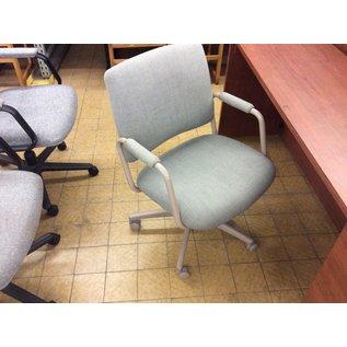 Lt green desk chair (10/03/19)
