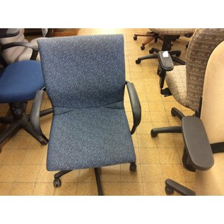 Blue pattern desk chair (10/8/19)