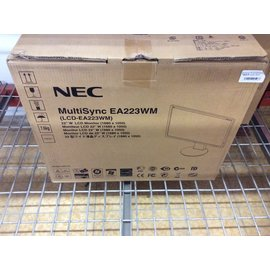"New - 23"" Nec lcd Monitor 10/9/19)"