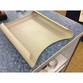 Beige plastic paper tray (10/16/19)