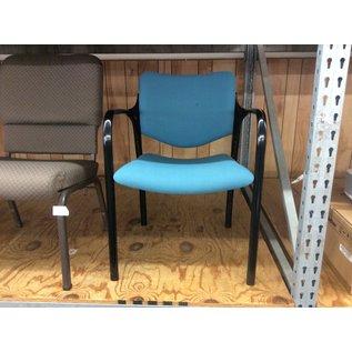Green metal frame side chair (10/24/19)