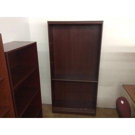 "11 1/2x35 1/2x 72"" Cherry bookcase (10/30/19)"