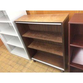 "11 3/4x36x48"" Wood bookcase (19/30/19)"