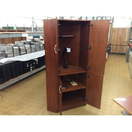 """31x44x78"""" Cherry wood Armoire//cabinet (11/6/19)"""