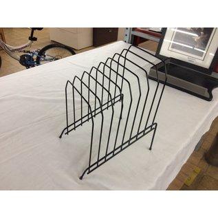 Black metal wire 8 slot file sorter (10/20/2020)