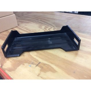 Single black plastic legal size paper tray (11/19/19)