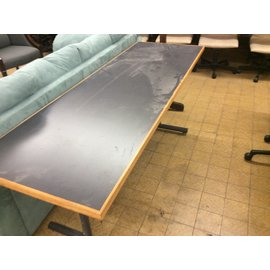 24x72x29 Dark Gray top metal frame table (11/27/19)