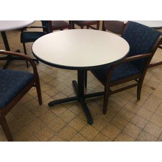 "36"" Lt gray round table (12/5/19)"