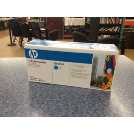 HP Q6001A Cyan Print Cartridge. (12/6/19)