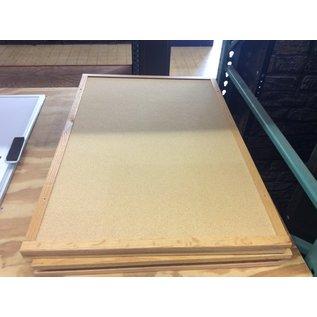 """36x24"""" Wood frame cork board (12/12/19)"""