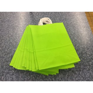 New Neon green gift bags - bundle of 11 (12/18/19)