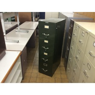Dk green metal 4 drawer vertical file cabinet (1/8/2020)