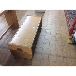 "Wood coffee table 18""x48""x18"" (1/8/20)"