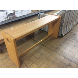 "15""x60""x28"" Wood table (1/8/20)"