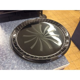 "16"" Black plastic serving trays - 3pk (1/13/2020)"