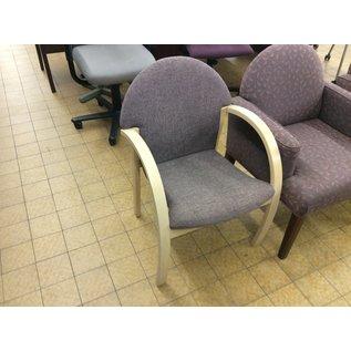 Purple wood frame side chair (1/15/2020)