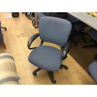 Blue pattern desk chair (1/15/2020)