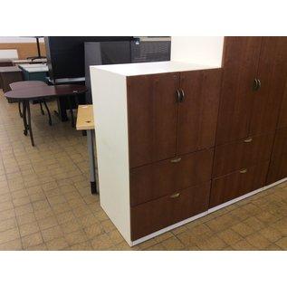 """25x30x50 1/2"""" Wood 2 door/2 drawer cabinet (1/21/2020)"""