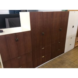 "25x30x67"" Wood 2 door/2drawer Cabinet (1/21/2020)"
