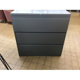 Blue/gray 3 drawer lateral file (2/12/2020)
