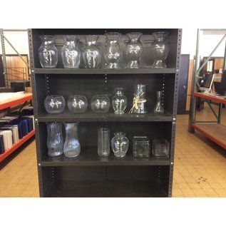 Misc. Glass vases. (2/19/2020)