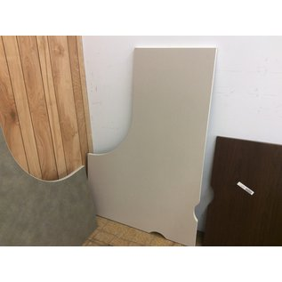 "41 1/2x59 3/4"" Tan curved counter top (2/20/2020)"