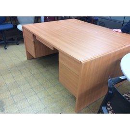 """30x66x29 1/2"""" Wood dbl per desk (2;27/2020)"""