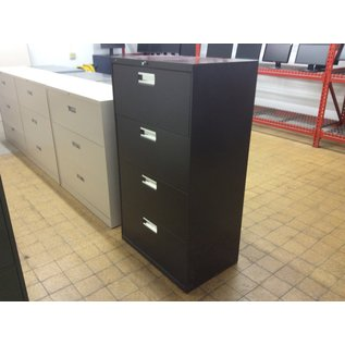 19x53x30 Brown 4dr literal file cabinet (4/21/2020)