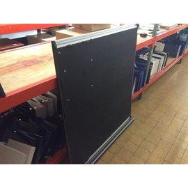"48x53"" Black bulletin board - need work (3/4/2020)"