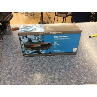 Office Depot Hp12A Black Toner (3/10/2020)