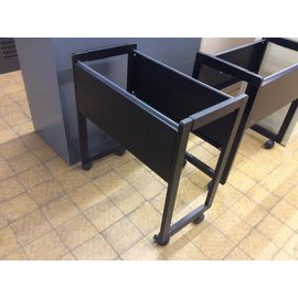 "13 1/2x26x27"" Black file cart (3/11/2020)"