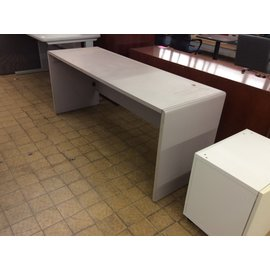 "24x72x29 1/2"" Lt gray work table (3/11/2020)"