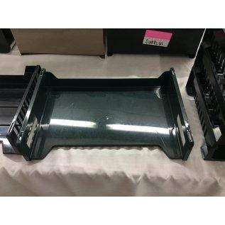 Single green plastic paper tray (3/11/2020)