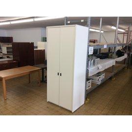 "24x36x84"" White wood wardrobe (3/12/2020)"