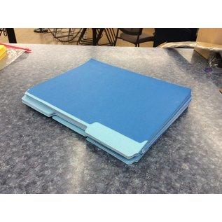 Blue 46 pack file folders - New (3/17/2020)