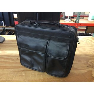 Black Leather laptop bag (3/17/2020)