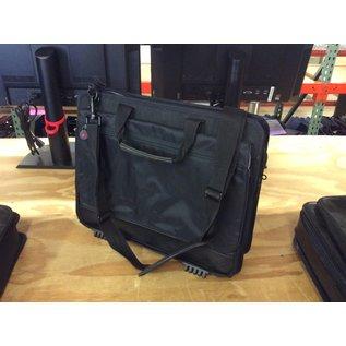 Black vinyl laptop case. (3/17/2020)