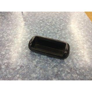 Black plastic business card holder (3/20/2020)