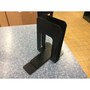 Black metal large Bookends - 2pk (3/20/2020)