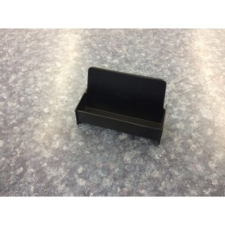 Black plastic business card holder (3/20/2020)