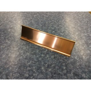 Gold metal name plate (4/15/2020)