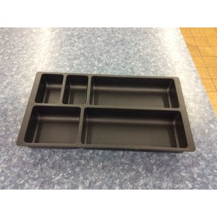 Medium plastic desk drawer organizer (3/20/2020)