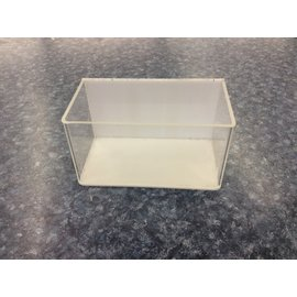 """3x5 1/4x3"""" Clear plastic magnetic container (3/20/2020)"""