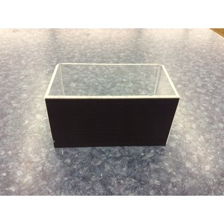 "3x5 1/4x3"" Clear plastic magnetic container (3/20/2020)"