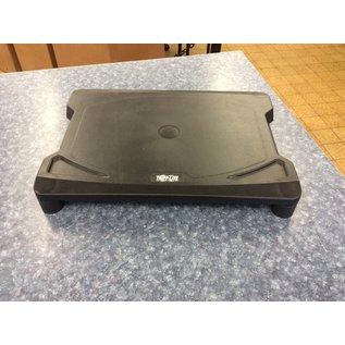 Tripp-Lite black plastic monitor stand (3/20/2020)