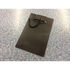 8 1/2x11 Black plastic clip board (3/23/2020)