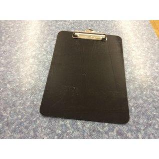 8 1/2x11 Black plastic clip board (3/11/21)