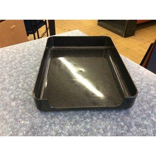 Black plastic single paper tray (3;23/2020)