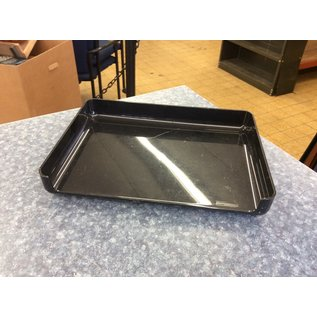 Black plastic single paper tray (3/23/2020)
